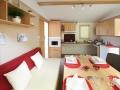 Cuisine et séjour Mobil home PMR