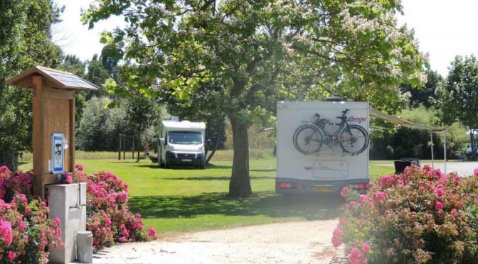 Aire de service camping-cars